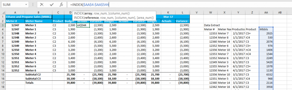 INDEX and MATCH Functions – Multiple Criteria VLOOKUPs - Capitalize
